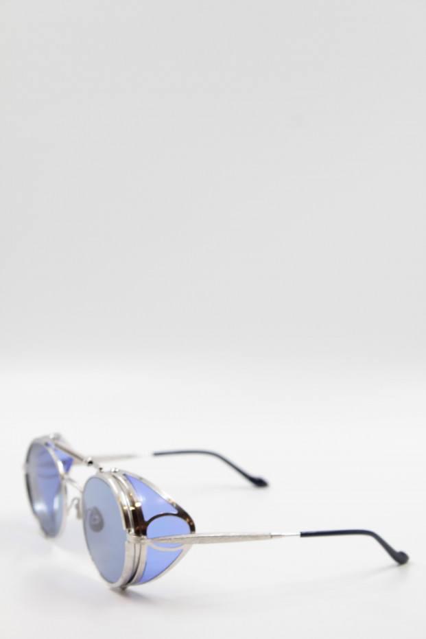 Matsuda Eyewear Brushed Silver T Sunglasses