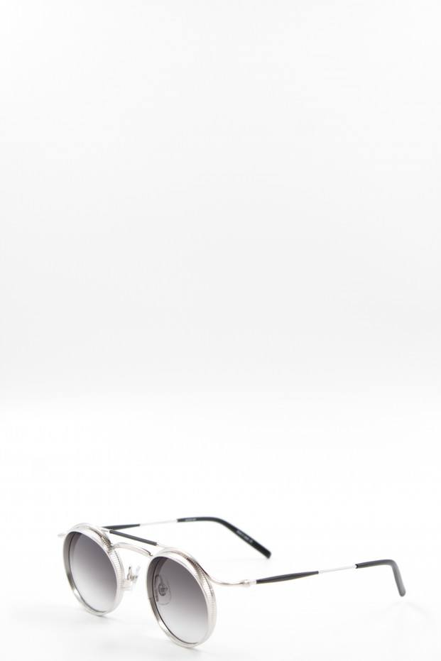 Brushed Silver Sunglasses