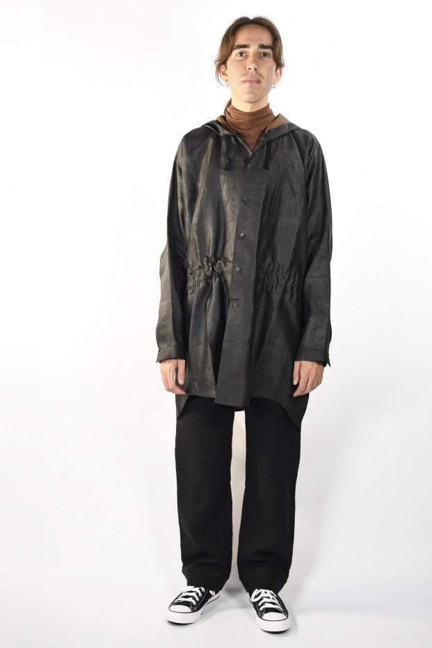 Jan-Jan Van Essche Hodded Shirt Woven