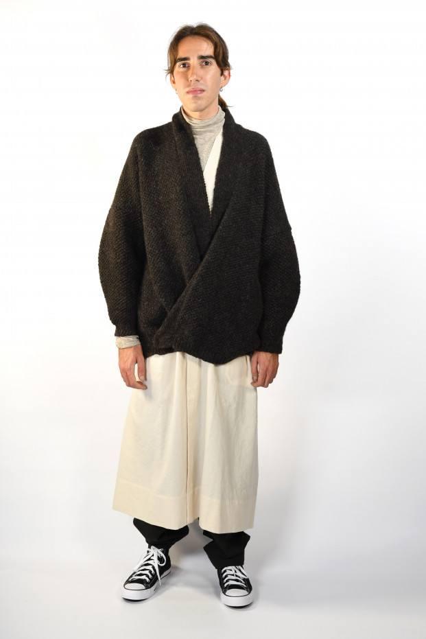 Jan-Jan Van Essche Over Knitted Cardigan