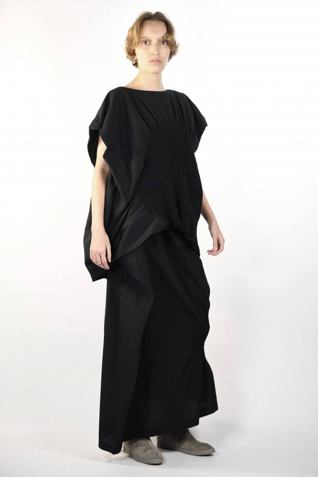 Issey Miyake Rise Over Top Black