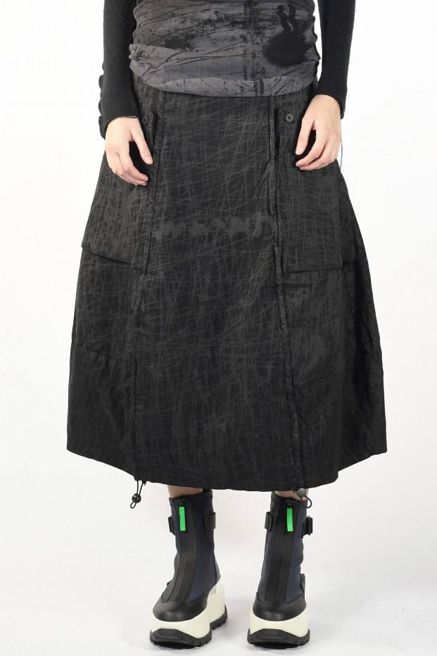 Laced Long Skirt