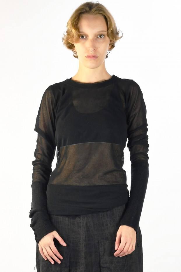 Ls Transparent T-Shirt