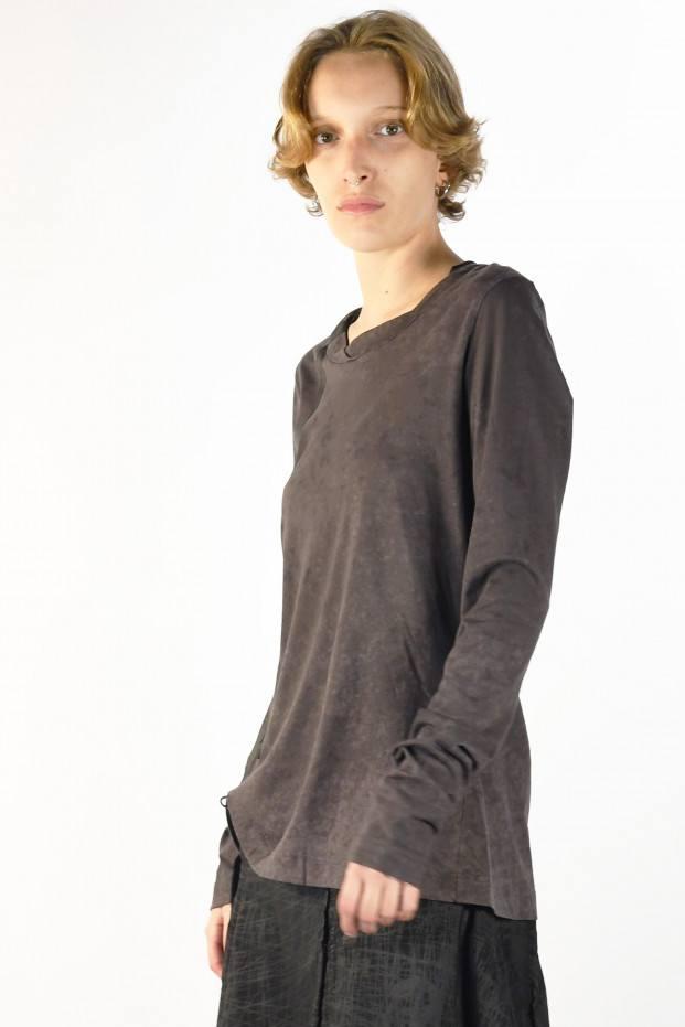 Ls Print T-Shirt