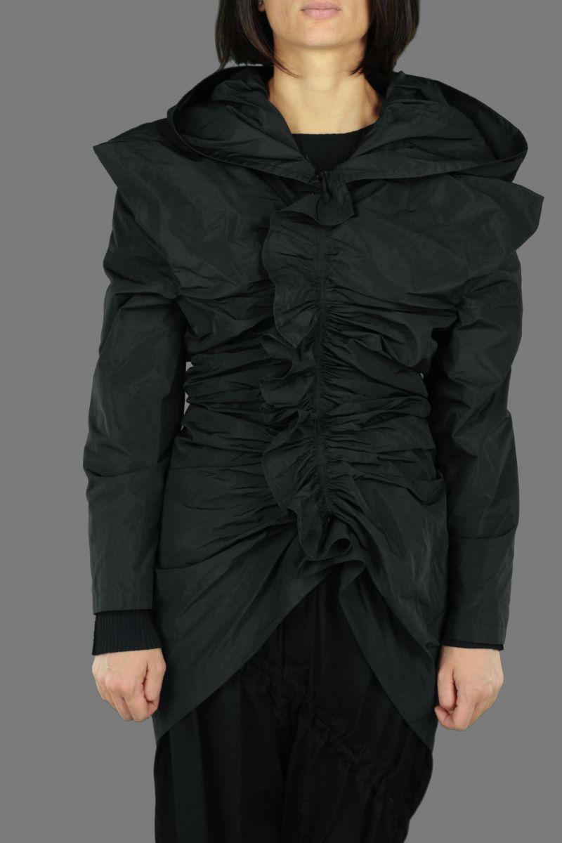 Hooded Gather Jaket
