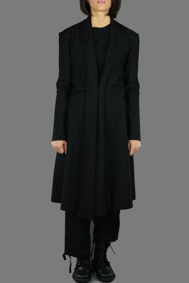Bias Shawl Collar Jacket