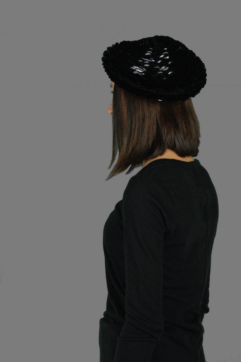 Knit Round Cap
