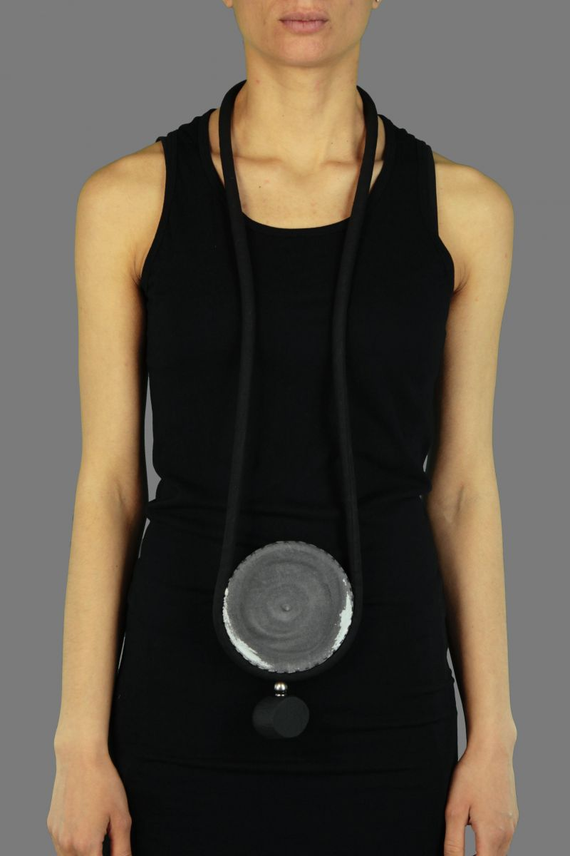 Tubular Disc Necklace